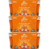 Glade Jar Candle Air Freshener, Limited Edition, Toasty Pumpkin Spice, 6 Candles, 3.4oz