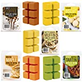 SmoDy Wax Melts Fall Scents (Sweet) 3 Ounces x 5 Highly Scented Soy Wax Cubes for Electric Warmer and Burner   Long Lasting F