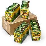 Crayola; Crayons; Art Tools; 24 Packs of 24 ct. Crayons; Durable, Long-Lasting Colors