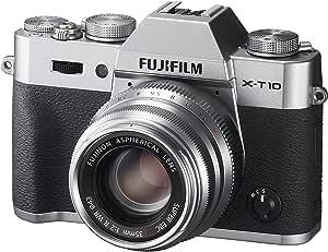 FUJIFILM ミラーレス一眼 X-T10 レンズキット シルバー X-T10LK35F2-S