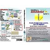 Embrilliance StitchArtist Level 1 Machine Embroidery Digitising Software & World Weidner Stabiliser Bundle