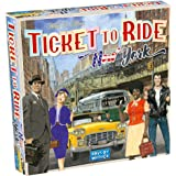 Days of Wonder Ticket to Ride - New York Board Game, Multicolor, us:one Size