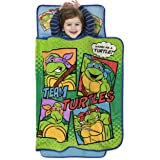 Teenage Mutant Ninja Turtles Toddler Nap Mat - Includes Pillow and Fleece Blanket – Great for Boys and Girls Napping at Dayca