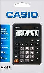 Casio MX-8B Value Series Desk Top/Compact Desk Type Calculator