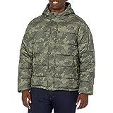 Amazon Essentials Men's Standard Heavy-Weight Hooded Puffer Coat