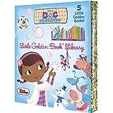 Doc McStuffins Little Golden Book Library (Disney Junior: Doc McStuffins): As Big as a Whale; Snowman Surprise; Bubble-Rific!