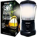 Internova Monster LED Camping Lantern - Battery Powered - Massive Brightness - Perfect for Hurricane - Camp - Emergency Kit