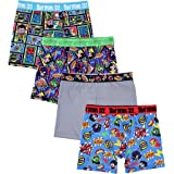 DC Comics Mens BABP5413 Teen Titans Athletic Boxer Brief Underwear - Multi
