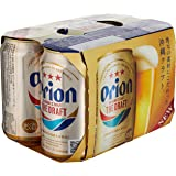 Orion Premium Draft Beer Can, 6 x 350ml