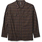 Dickies Mens WL650 Long Sleeve Flex Flannel Shirt Long Sleeve Shirt - Multi