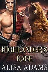 Highlander's Rage: A Scottish Medieval Historical Romance (Unbroken Highland Spirits Book 2) Kindle Edition