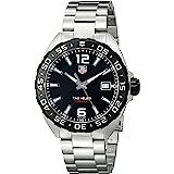 Tag Heuer Men's Waz1110.Ba0875 Stainless Steel Watch Black