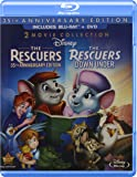 Rescuers 35th Anniversary Edition & Rescuers Down [Blu-ray]