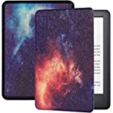 TERSELY Slimshell Case for All-New Kindle (10th Generation, 2019 Release), Premium Smart Shell Cover Protective PU Leather Co