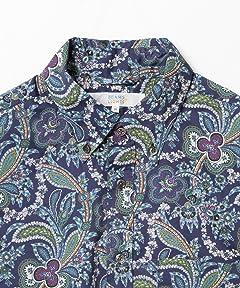 Liberty Print Buttondown Shirt 51-11-0493-012: Paisley
