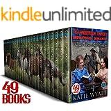 49 Books Western Sweet inspirational Romances 7 Complete Series Mega Box Set (Mega Box Set Series Book 14)