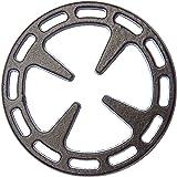 Ilsa 8880 Gas Ring Reducer, 5-Inch, Cast Iron Black