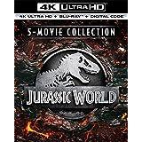 Jurassic World 5-Movie Collection (4K Ultra Hd/Blu-Ray/Digital)