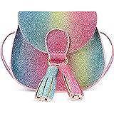 mibasies Kids Purse for Little Girls Toddler Crossbody Bag with Tassel