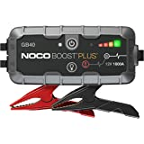 NOCO Boost Plus GB40 1000 Amp 12-Volt UltraSafe Portable Lithium Car Battery Booster Jump Starter Power Pack for Up to 6-Lite
