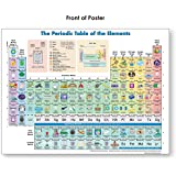 Periodic Table of Elements Poster (Periodic Table Display) Science Posters for Kids Classroom & Home -18 x 24 (Laminated)
