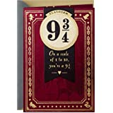 Hallmark Harry Potter Valentine's Day Card, Anniversary Card, or Everyday Love Card (Platform 9 3/4)