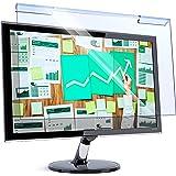 Universal Blue Light Blocking Screen Protector Panel for 23, 23.6, 23.8, 24 inch Diagonal LED PC Monitor Anti-UV Eye Protecti