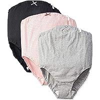 ローズマダム 肌にやさしい マタニティショーツ 綿100%でノンストレスの履き心地 ウエストゴム調整 お得な3枚組 73…