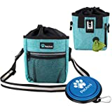 PetAmi Dog Treat Pouch   Dog Training Pouch Bag with Waist Shoulder Strap, Poop Bag Dispenser and Collapsible Bowl   Treat Tr
