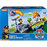 Paw Patrol Chase's Ride N Rescue Transforming 2-in-1 Playset & Police Cruiser
