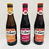 [輸入 ベルギー プレミアムビール] セントルイス(St Louis)3種飲み比べ 250ml × 3本