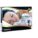 Waterproof Bamboo Mattress Protector - Thick and Soft Quilted Fabric Will Give You a Comfortable, Quiet and Cool Night Sleep.