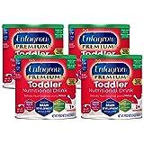 Enfagrow Toddler Next Step Milk Drink, Vanilla, Powder, 24 oz Can (Case of 4)
