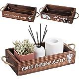 Makuzo Funny Bathroom Decor | Toilet Decor| Bathroom Box | Toilet Paper Holder Box| Funny Home Decor| Half Bath Decor| Bathro