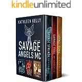 Savage Angels MC Collection Books 1 - 3 : Motorcycle Club Romance