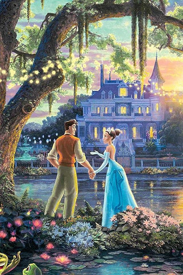 ディズニー 『プリンセスと魔法のキス』ティアナ,ナヴィーン iPhone(640×960)壁紙 画像38361 スマポ