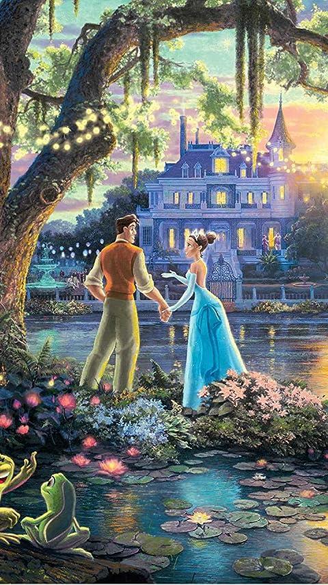 ディズニー 『プリンセスと魔法のキス』ティアナ,ナヴィーン XFVGA(480×854)壁紙 画像38159 スマポ