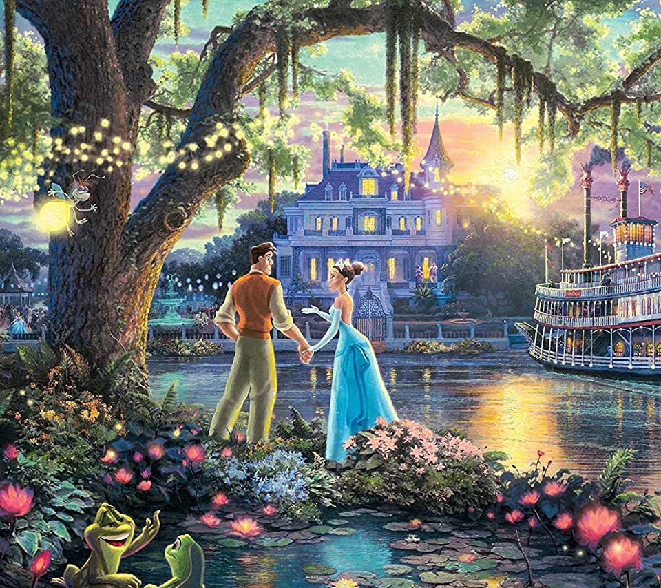 ディズニー プリンセスと魔法のキス ティアナ ナヴィーン Android