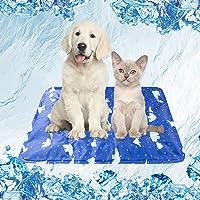 Mensu クールマット 夏用 ひんやりマット 小型ペット用品 シート 涼しい 犬猫 マット ペット用品 冷却シート 涼…
