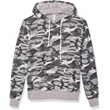 Alternative Men's Challenger loopside Burnout French Terry Pullover Hoodie