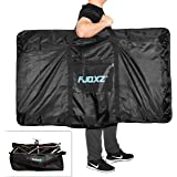 CamGo 26 Inch Folding Bike Transport Bag - Waterproof Bicycle Travel Case Carrier Bag for Train Air Travel