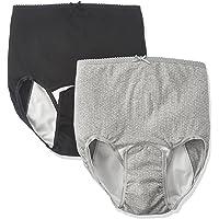 ローズマダム 綿100% 【出産準備品】 産褥ショーツ 洗い替えにも便利 /選べる2枚組 綿100% 防水布 しっかり…