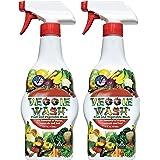 Veggie Wash Fruit & Vegetable Wash, 16-Fluid Ounce, Pack of 2