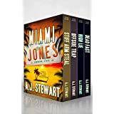 Miami Jones Florida Mystery Series Box Set - Books 1-4: Toes in the Sand Collection (Miami Jones Omnibus Book 1)