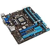 ASUSTek社製 Intel B75 Expressチップセット搭載 mATXマザーボード B75M- PLUS