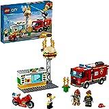 LEGO City Burger Bar Fire Rescue 60214 Building Toy