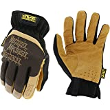 Mechanix Wear - Leather FastFit Gloves (X-Large, Brown/Black)