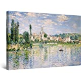 Startonight Canvas Wall Art Abstract - Monet Reproduction Summer Painting - Artwork Print for Bedroom 24 x 36 Inches