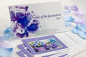 「Purple of the fascination 2017」オリジナル卓上フォトカレンダー Photographer : Kyoko Hasegawa