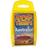 Top Trumps Australia 30 Things to See Card Game